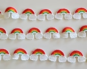 Rainbow Trim Sold by the Metre Can be Used as Sold or Cut into Single Motifs