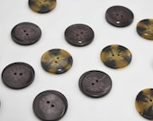 High Quality Marbled Two-hole Plastic Statement Buttons 38mm/3.8cm