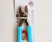 Snap Fastener Tool - Pliers for Press Fasteners, Eyelets, and Piercing - Prym Aqua