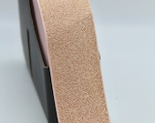 Rose Gold Metallic Elastic 50mm Wide Waistband Elastic - Sold By the Metre
