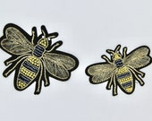 Beaded Royal Bee Motif/Pa...