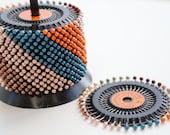 Pearl Headed Pins - Wheel of 40 Pins