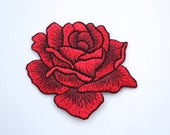 Iron on Embroidered Red R...