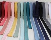 Double Gauze Bias Binding - 100% Cotton - Lots of Colours!