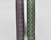Floral Retro Ribbon 18mm Wide Beautiful Quality Woven Jacquard Retro Floral Ribbon