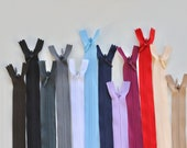 "Concealed Zip 22"" - Various Colours"