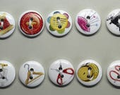 Sewing Buttons - 10 x Dig...