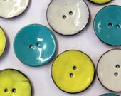 Large Colourful Enamelled...