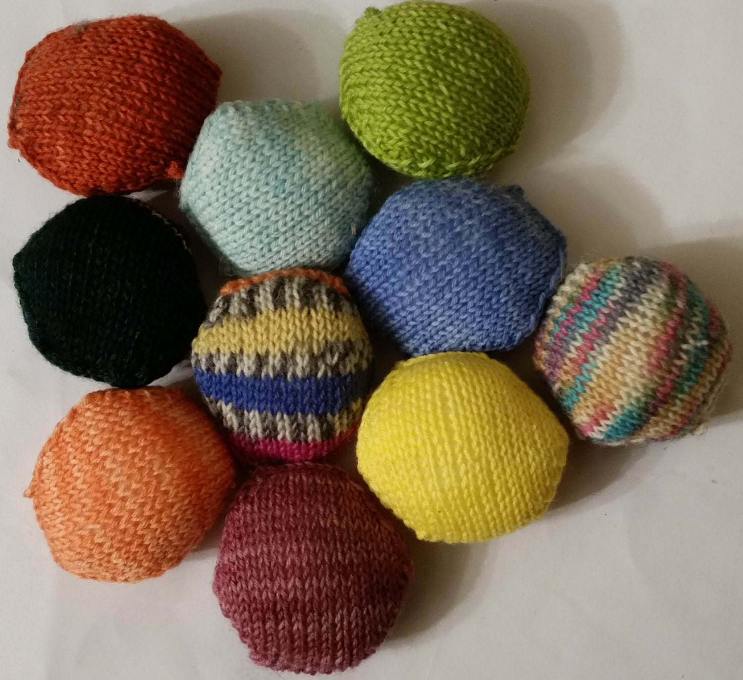 Selection Of 10 Hexipuffs For The Beekeepers Quilt Etsy