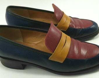 5e6f36efced Tricolor loafers vintage