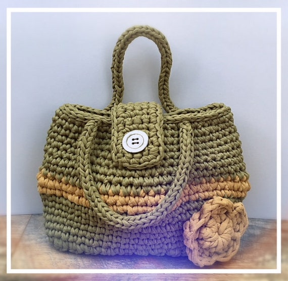 Easy To Follow Crochet Pattern For The Weekender Bag Etsy