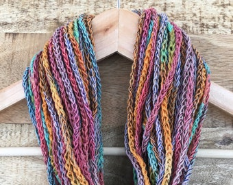 Handmade Crochet Necklace Chain Scarf