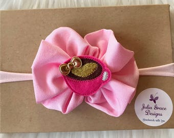 Baby Headband Baby Bows Girl Hairbow Baby Accessories Pink Etsy