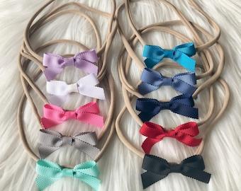 PICK 5 Baby Headbands or Mini Clips f930b98af50