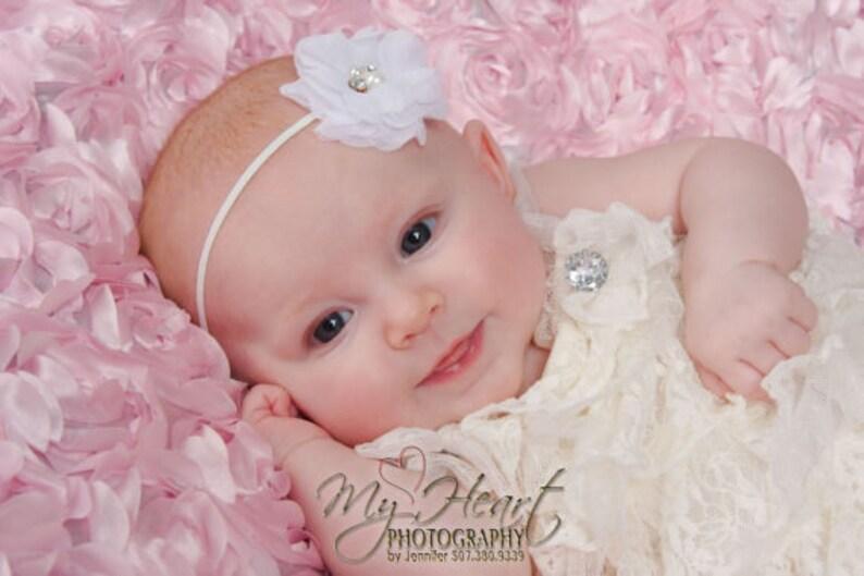 Infant Headband Flower Headband Small Baby Headband Baby Hairbow Baby Girl Headband Baby Bow Newborn Headband Pick 5 Baby Headbands