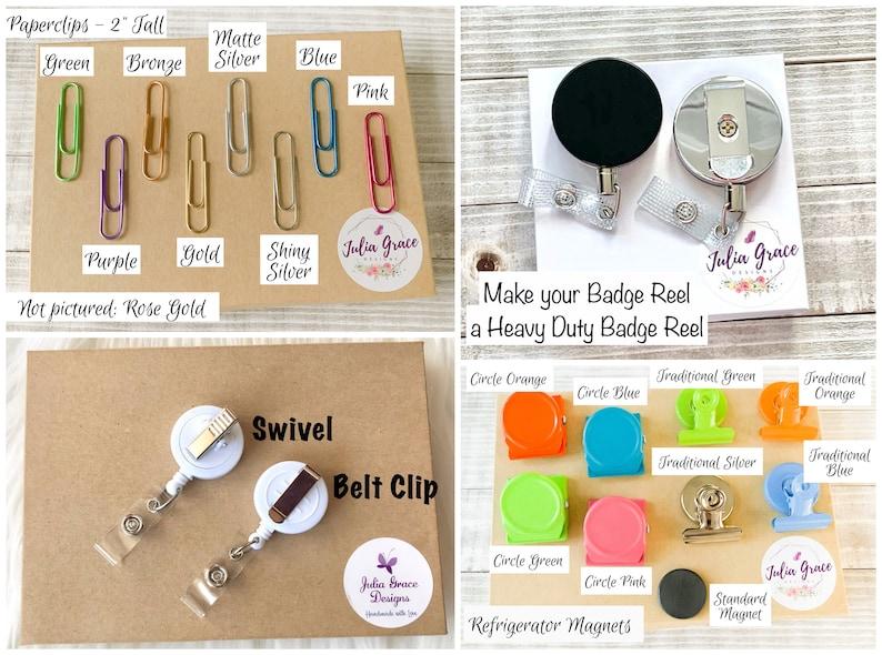 Kindness is Magic Badge Reel Topper OR Magnet Nurse Badge Reel Name Badge Holder Retractable Badge Kindness Badge Reel Cute Badge Pull