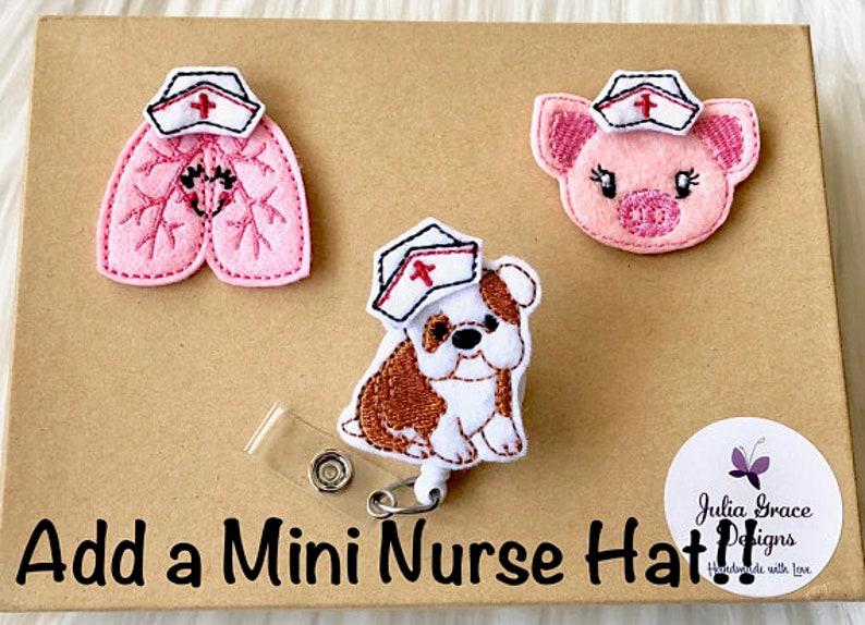 Nurse Badge Reel Retractable Badge Badge Reel Badge Clip Christmas Badge Reel ID Badge Reel Badge Pull RN Badge Reel Badge Holder