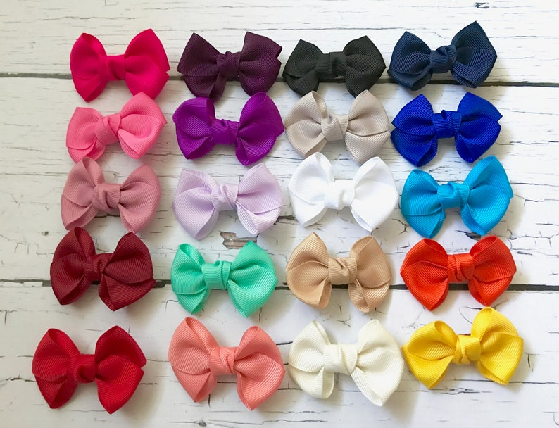 Hair Accessories Baby And Toddler Bow Clip Set Of 2 Special Buy