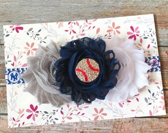 New York Yankees Headband, Baseball Headband, New York Yankees, Baby Headband, Baby Girl Headband, Yankees Headband, Toddler Headband, Baby