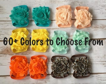 PICK 1-30 Baby Barefoot Sandals, Barefoot Sandals, Baby Shoes, Baby Sandals, Newborn Sandals, Newborn Shoes, Baby Girl Shoes, Baby Sandals