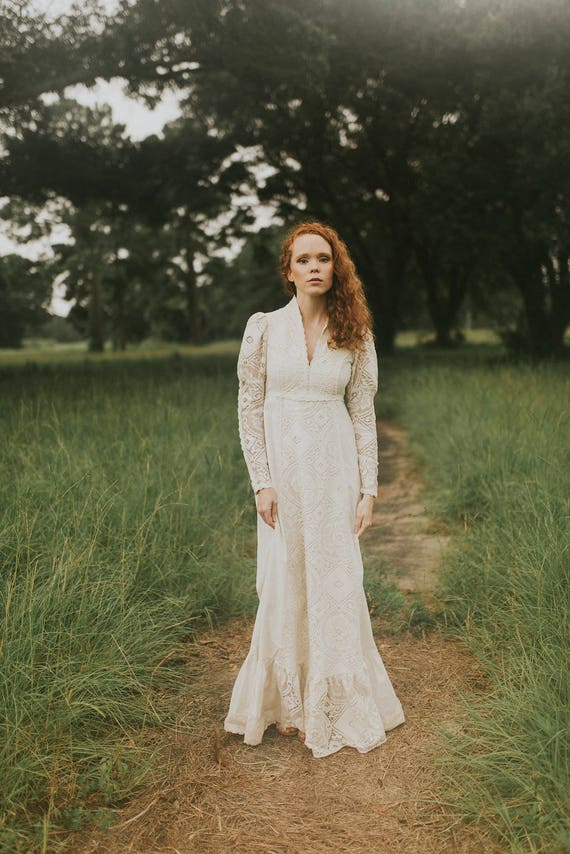Gunne Sax Wedding Dress - image 5