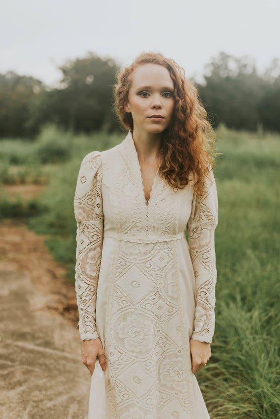 Gunne Sax Wedding Dress - image 2