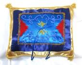 Ring Bearer Pillow Magic Flying Carpet Disney Inspired Aladdin Arabian Themed Wedding