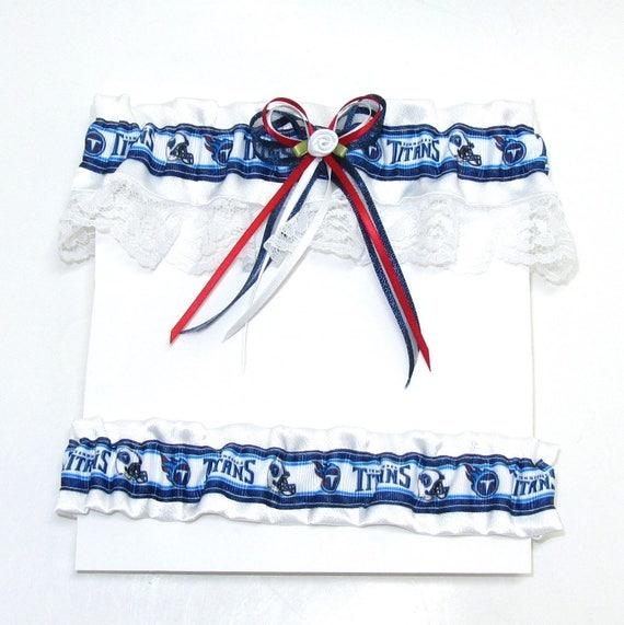 Tennessee Titans  Personalised Wedding Garter