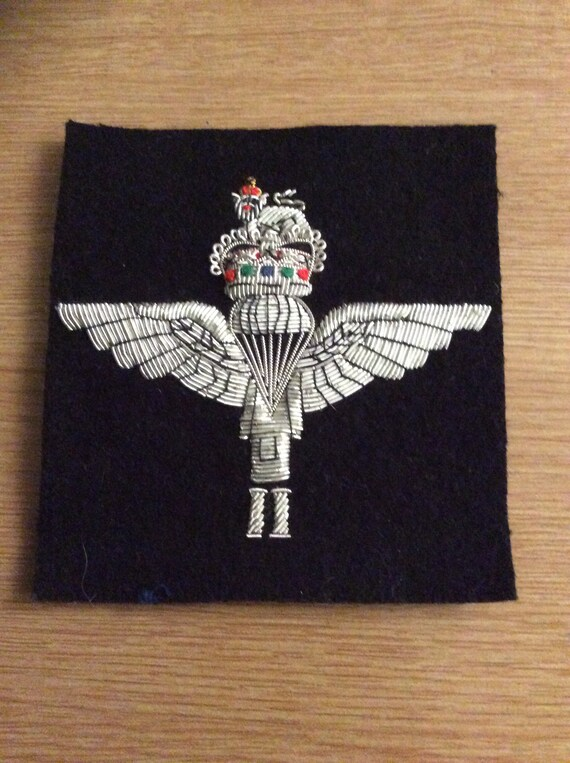 With Embroidered Badge Scarf East Lancashire Regiment