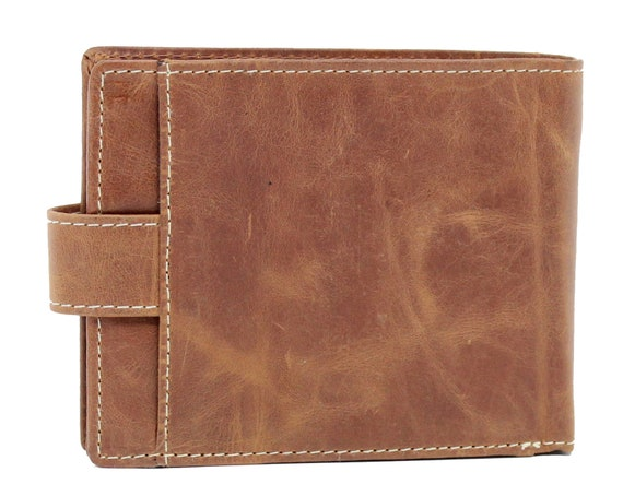 Mens Gents Wallet Soft Real Cowhide Leather Topsum London New in Gift Box #4020