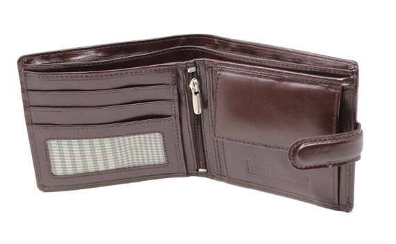 Starhide RFID Mens Soft Real Leather Wallet With Coin Pocket /& ID Window 1217