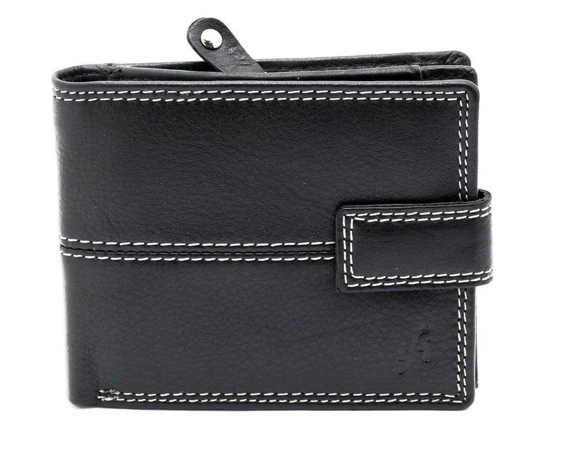 3490a74cc561 Mens RFID BLOCKING wallet   Wallet Men Large Zip Around Coin Pocket Pouch  Handmade Genuine Leather Wallet Purse By Starhide