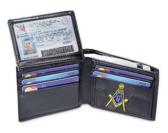 Masonic wallet | Etsy
