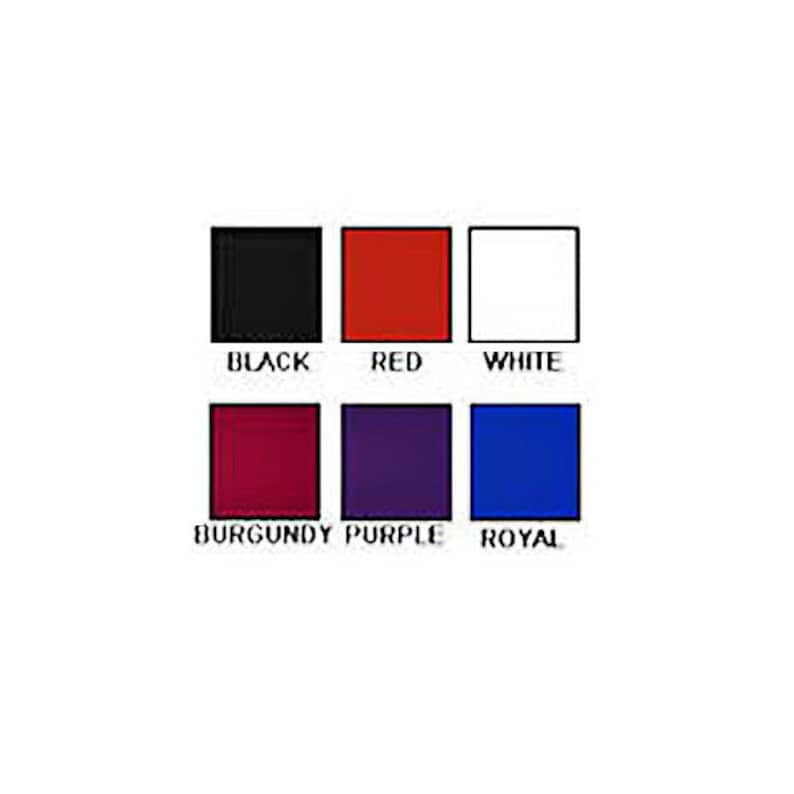 ELKS BPOE CUMMERBUND Set 6 Embroidered Logos to Choose From 6 Colors with Solid Bow Ties