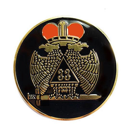 Scottish Rite Northern Masonic Jurisdiction 33 degree logo | Degree logo,  Character, Disney characters