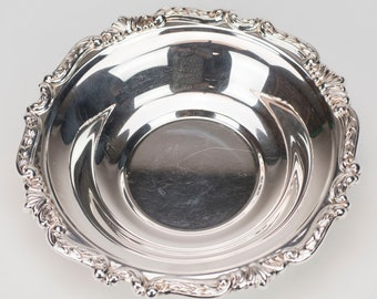 """8"""" Silver plate Bowl"""