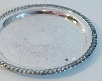 "9"" Silver Plate Leonard Silver Plate"