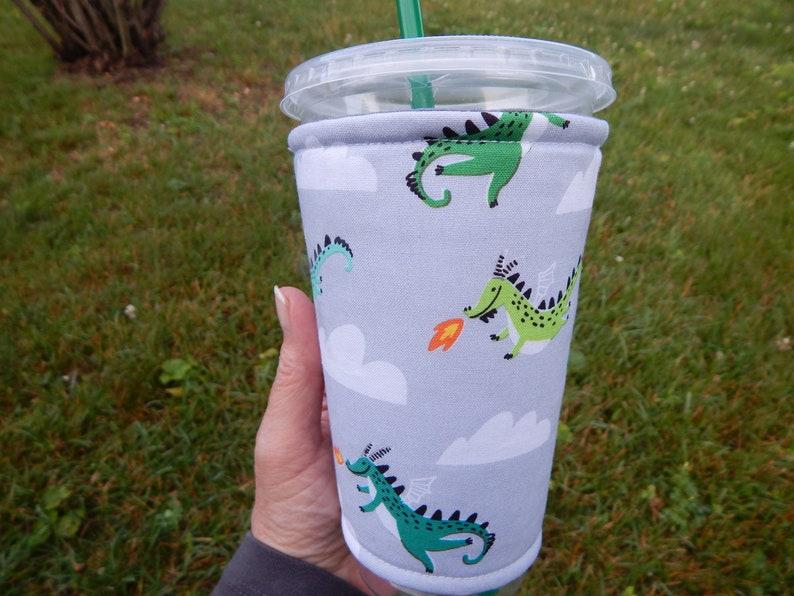Dragon Iced Coffee Cozy image 0