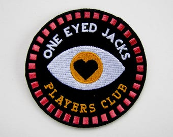 One Eyed Jacks Patch - Robert John Paterson