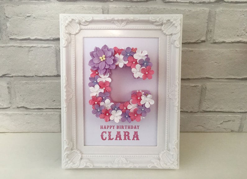 Personalised Baby Girl Gift 1st Birthday From