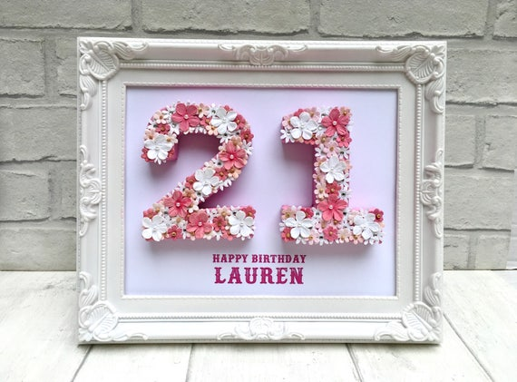 Unique 21st Birthday Gift Celebration