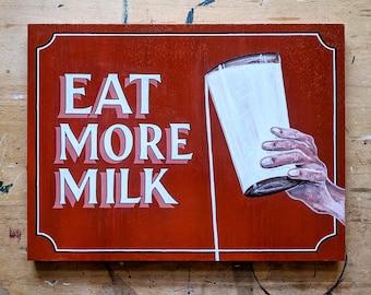Hand-painted Cadbury's advertising sign
