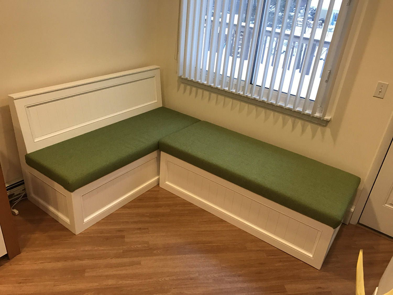 L Shaped Bench
