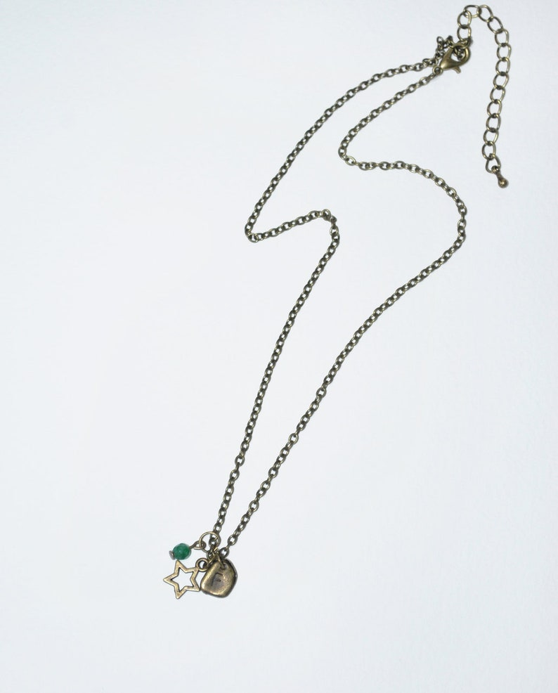 Paris Personalised Charm Necklace Bronze