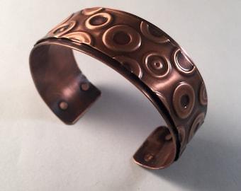 SOLD Lifesaver Copper Cuff