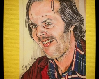 Jack Torrance From the Shining Original Artist Trading Card FREE SHIPPING