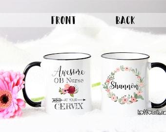 Ob nurse mug | Etsy