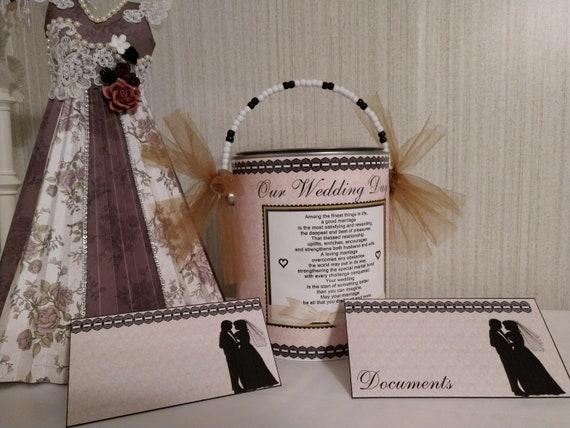 Wedding Gift Wedding Time Capsule Bridal Shower Gift Unique Etsy