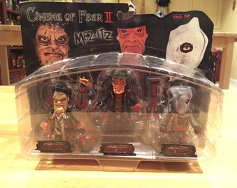 Cinema of Fear II Mez-Itz Leatherface Freddy Krueger Jason Voorhees