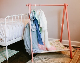 Children's Clothing Rack, Clothing Display, Dress Up Rack, Toddler Dress Up, Capsule Wardrobe, Clothing Rack, Clothing Rack